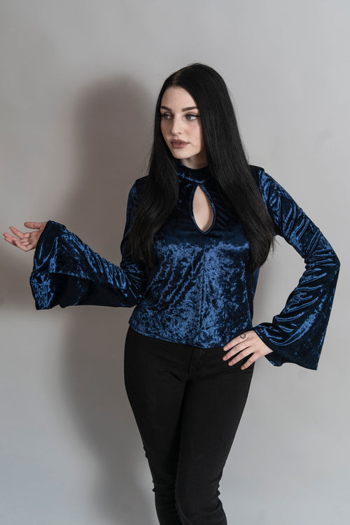 Blue Moon Bell Sleeve Top