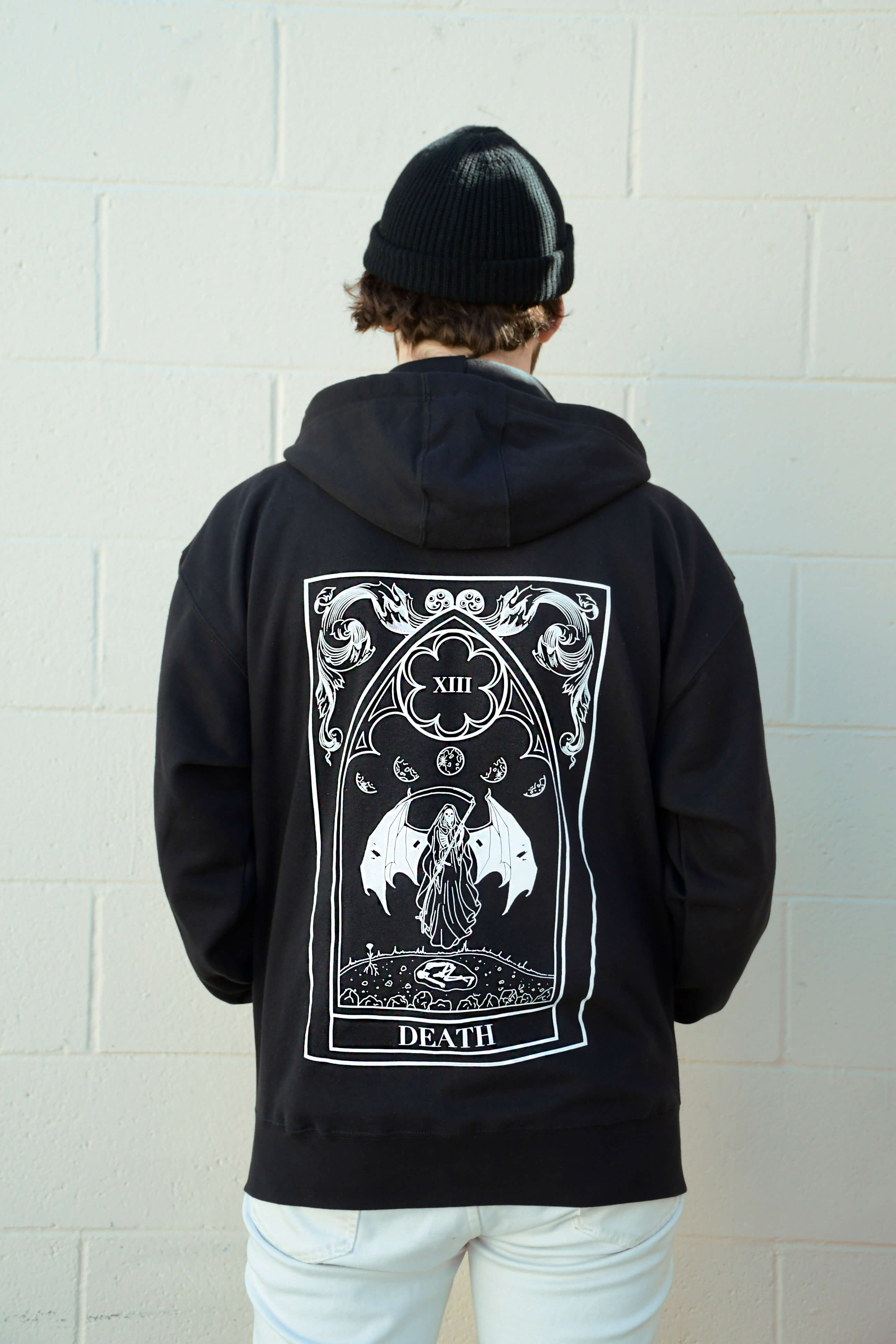 Death Zip Up Hoodie
