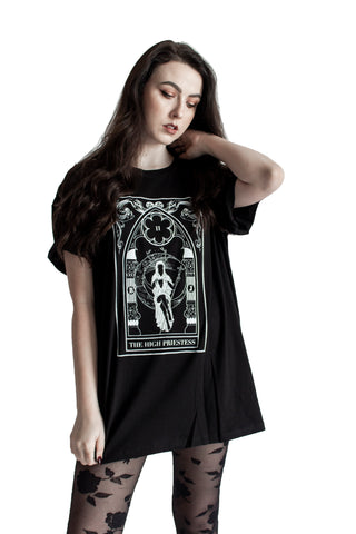 """Empress'' Sleeveless Tarot Tank"