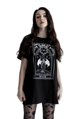 ''Death'' Sleeveless Tarot Tank