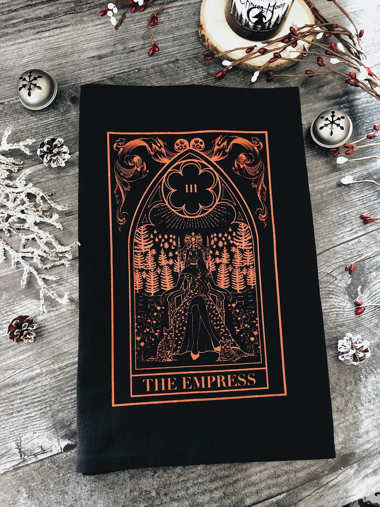 The Empress Tea Towel
