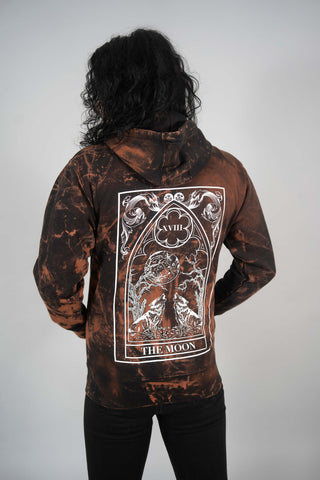 Bleached Death Zip Up Hoodie
