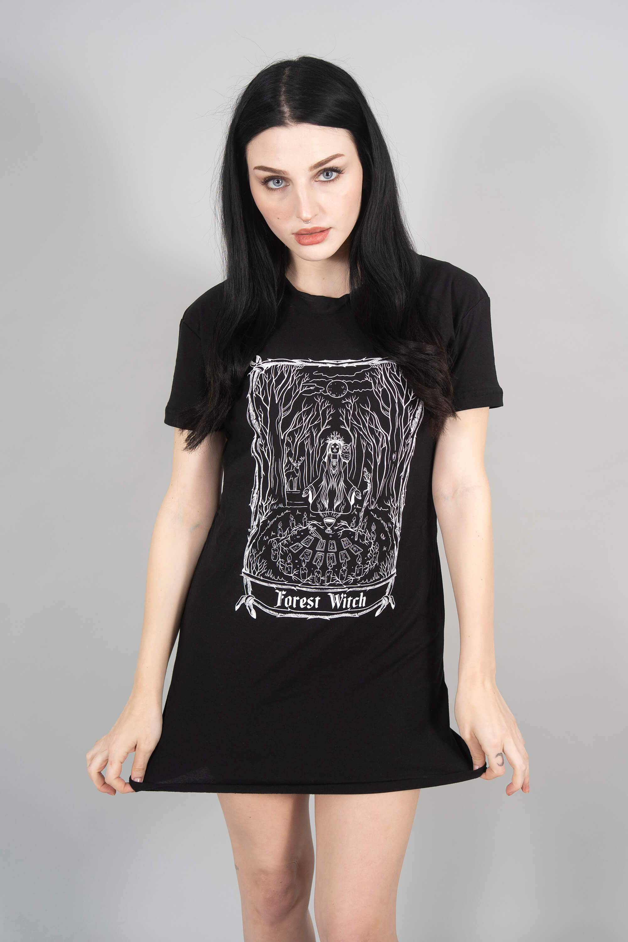 Forest Witch Tee Dress
