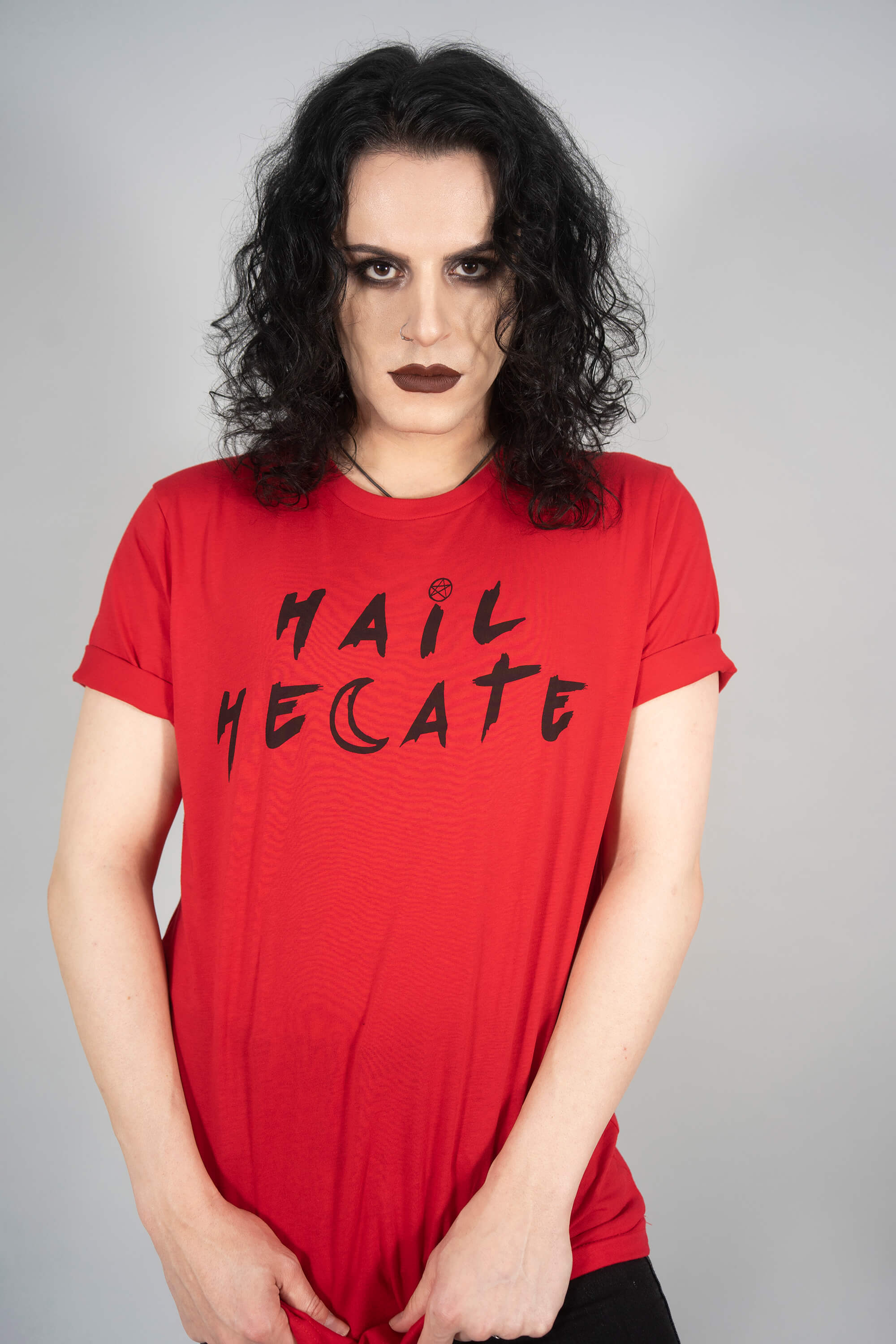 Hail Hecate Blood Red Tee