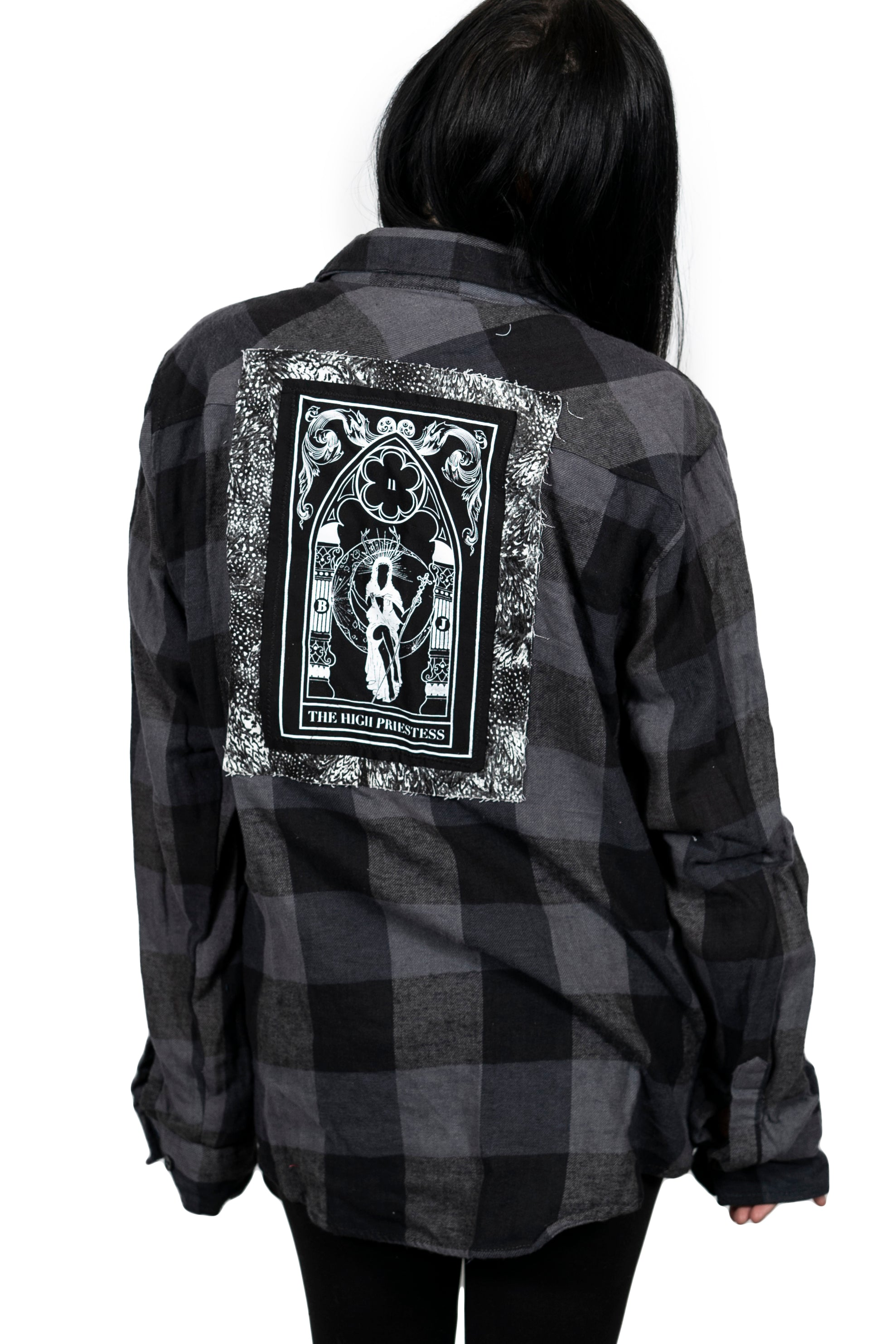 High Priestess Stone Flannel