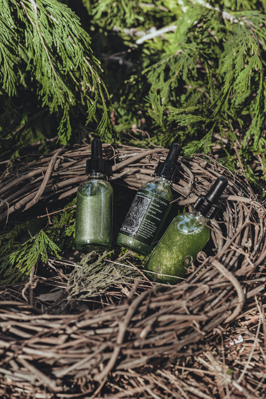 Forest Witch Body Shimmer