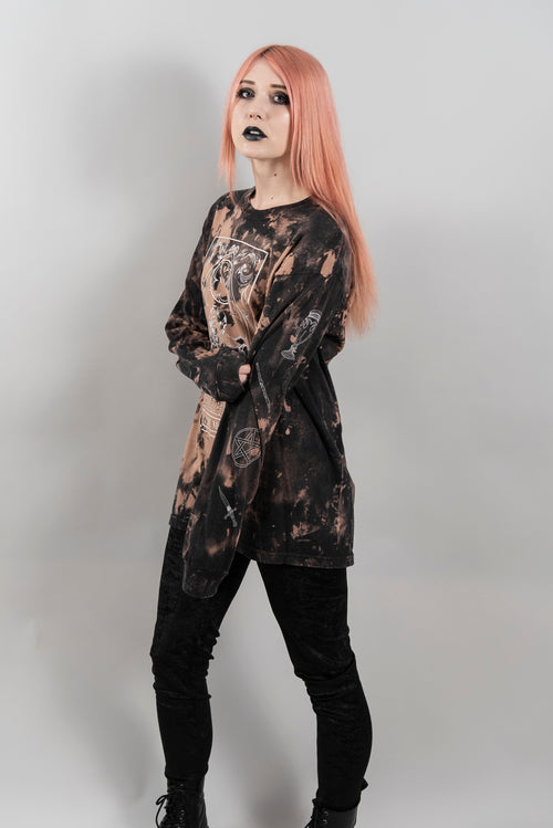 Bleached Moon Tarot Long Sleeve