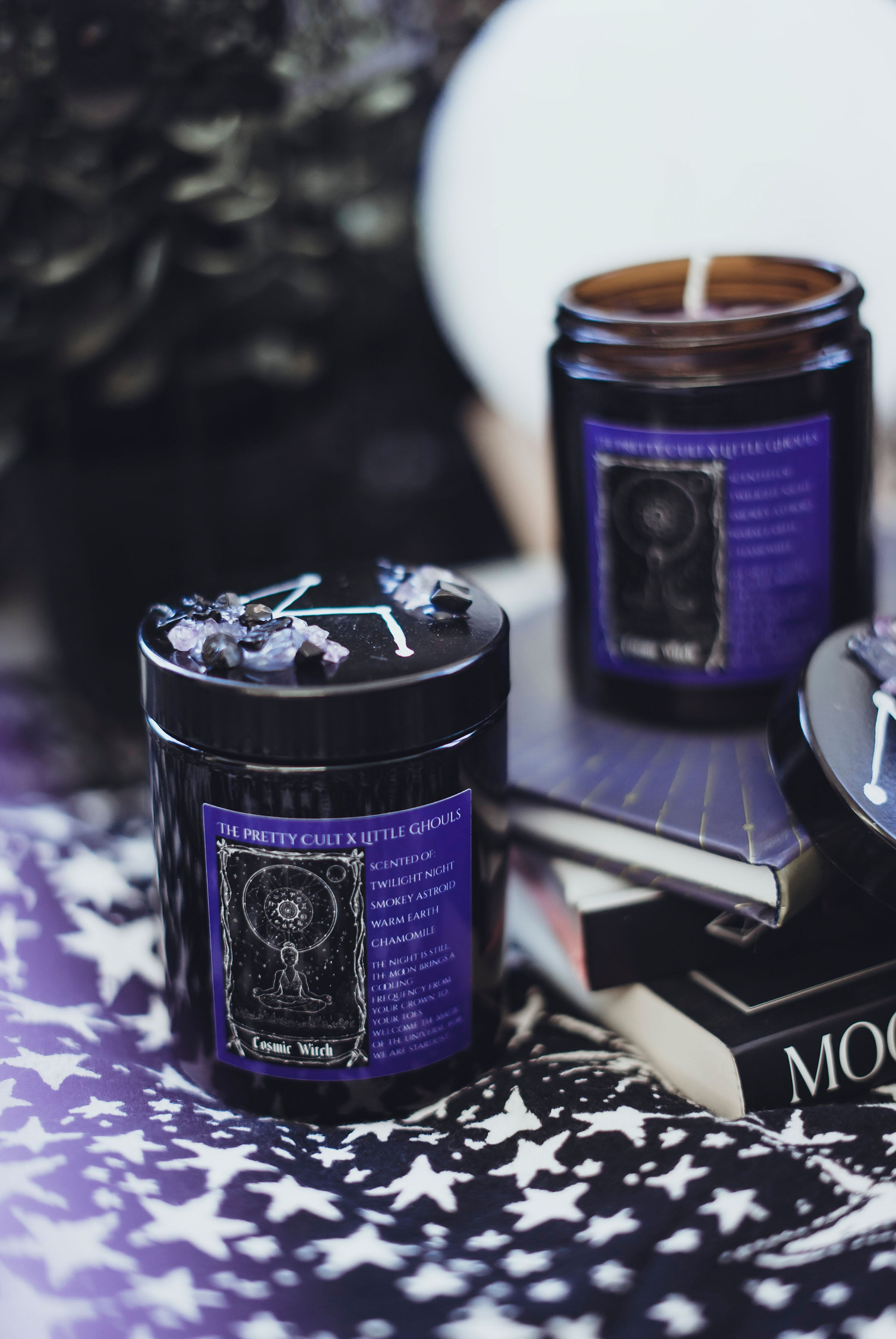 Cosmic Witch Candle