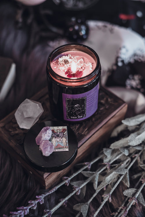 Eclectic Witch Candle