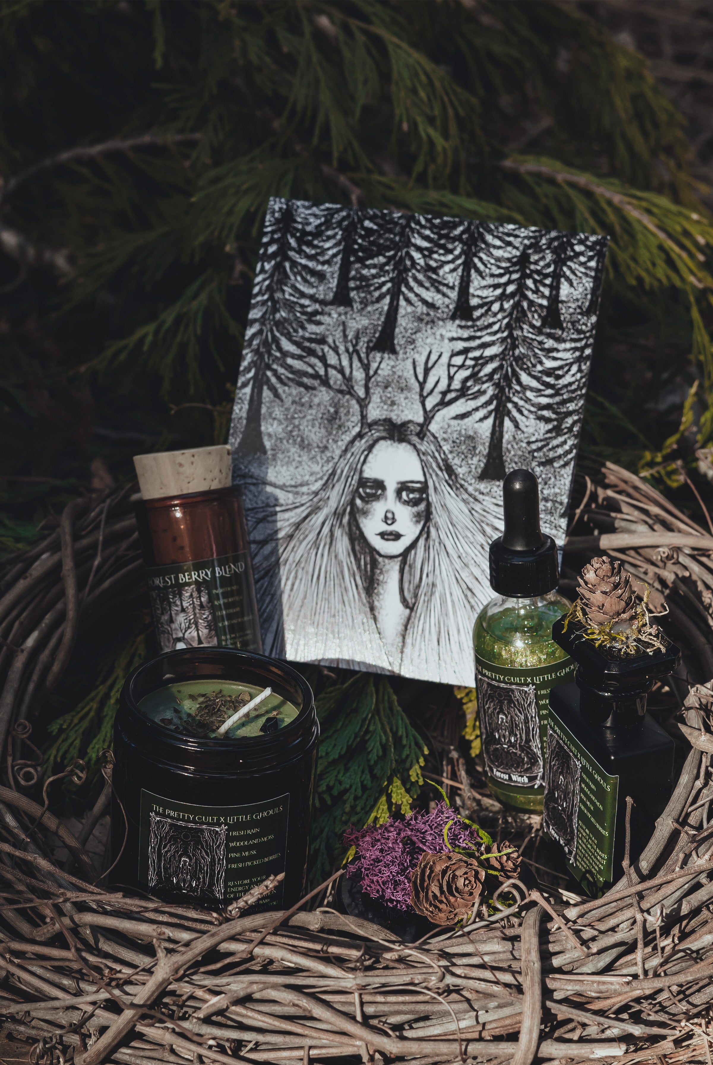 Forest Witch Ritual Kit