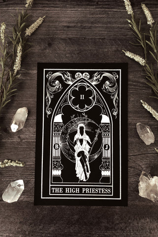 """The Empress"" Tarot Card Back Patch"
