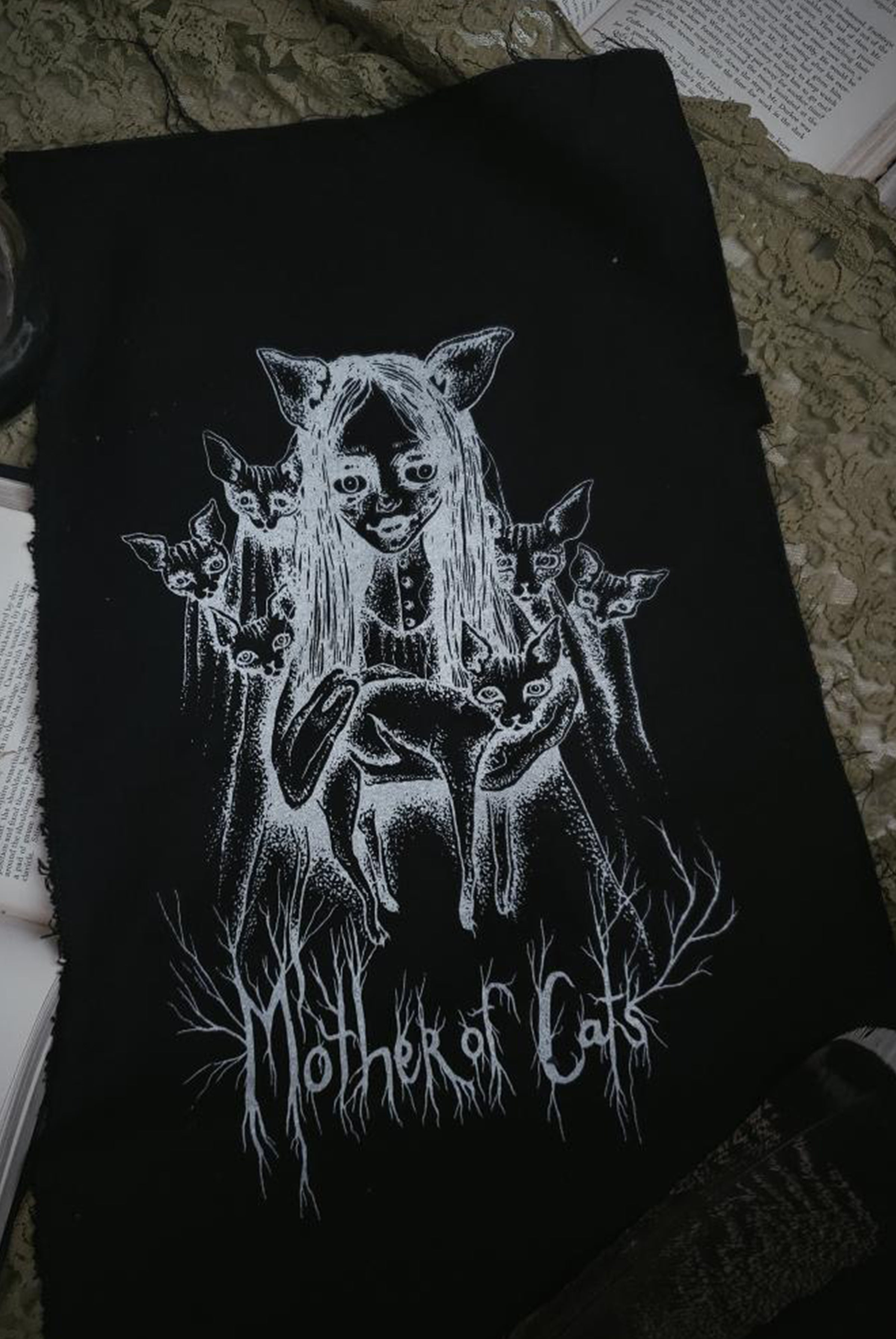 Mother Of Cats Back Patch - 1 LEFT!