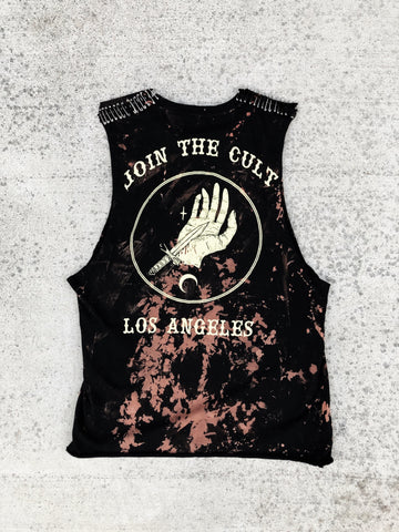 ''Suck Out The Poison'' Custom Tank Size Medium