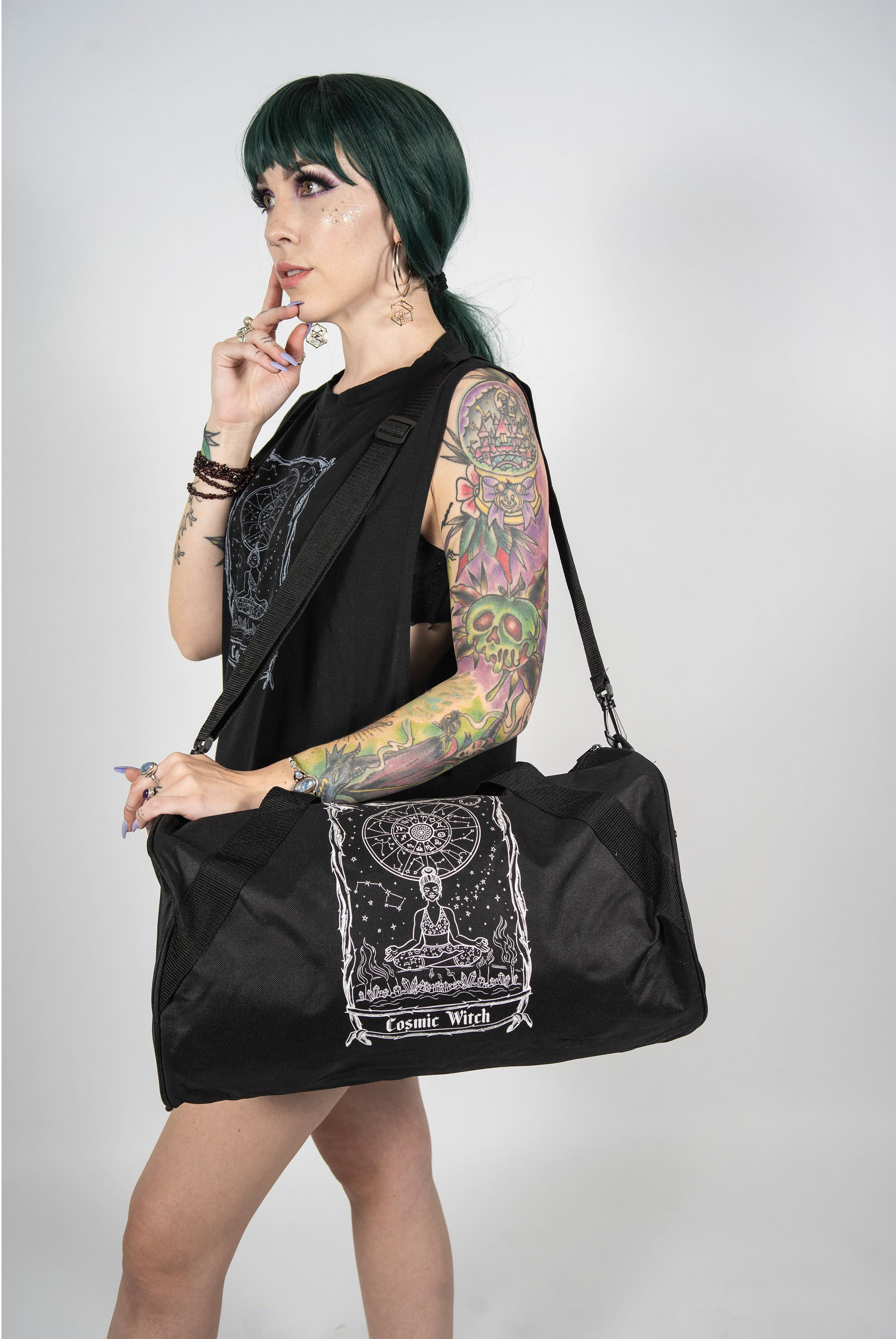 Cosmic Witch Duffle Bag