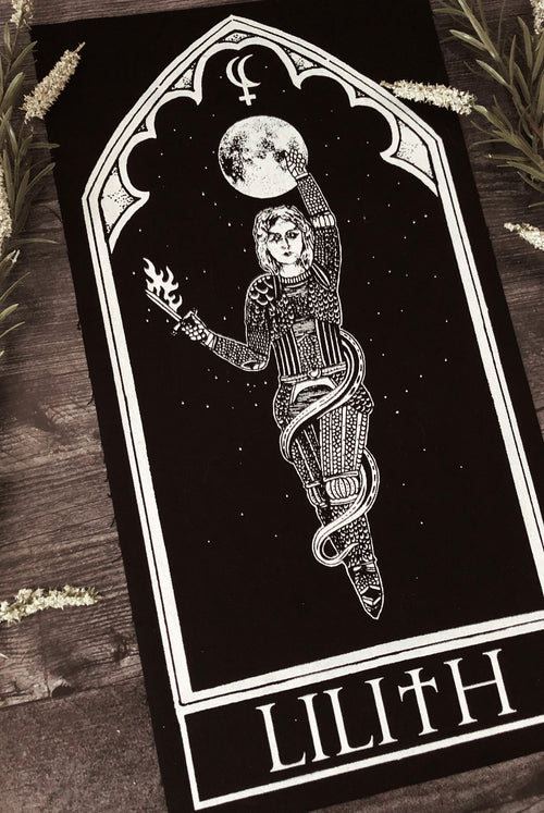 Lilith Oracle Back Patch