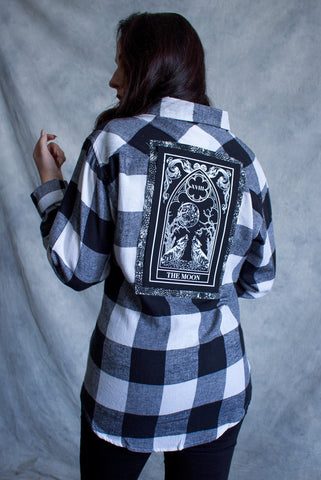 """High Priestess"" Tarot Card Back Patch"