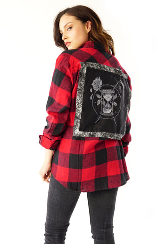 ''Death'' Button-Down Vest