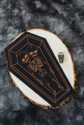"""The Moon"" Tarot Card Velvet Back Patch- 1 LEFT!"