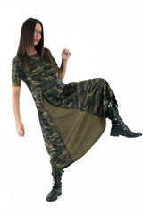 Autumn Camouflage Dress, Dresses & Maxi Dresses