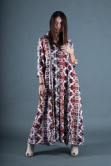 Cotton Summer Dress, Long Dress