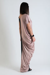 Spring Summer Long Twisted Maxi Dress