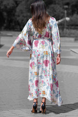 White Maxi Summer Cotton Dress, Dresses Spring & Summer