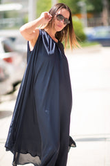 Navy Blue Summer Dress, Dresses Spring & Summer