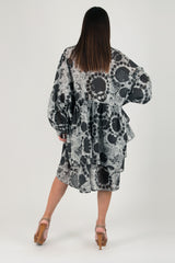 Grey Asymmetric Flounces Top, New Arrival