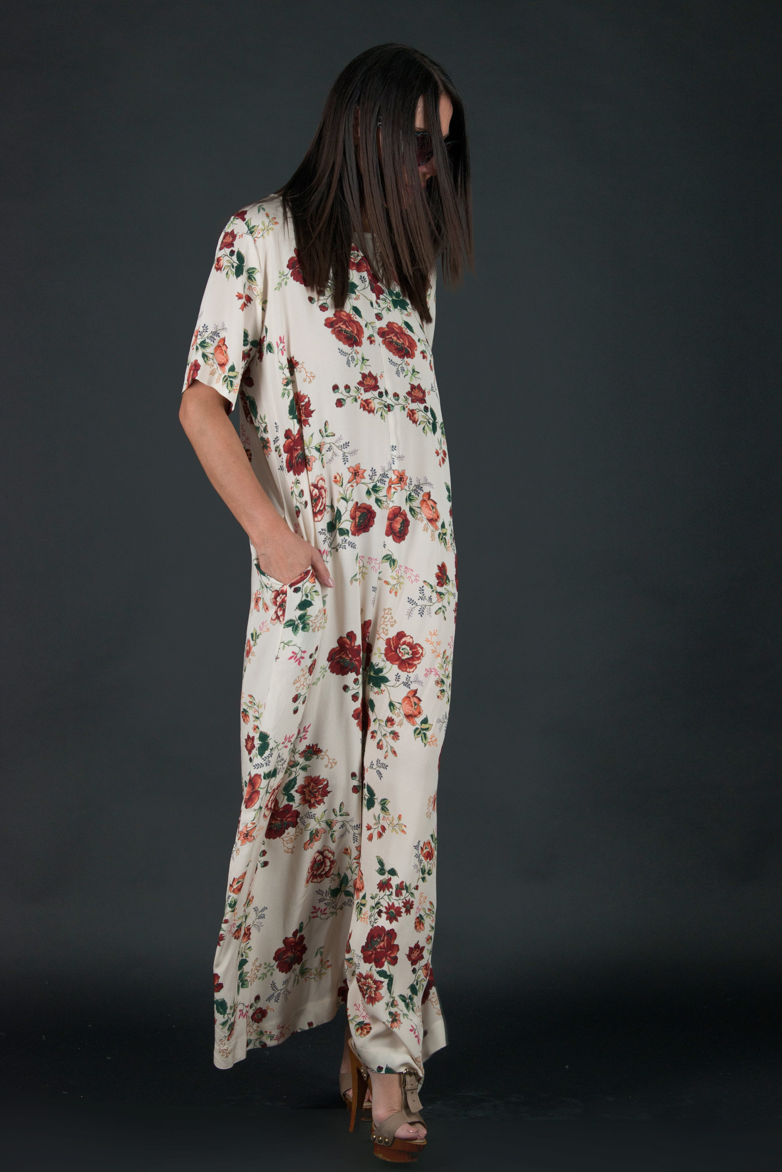 Wide Summer Boho Jumpsuit, New Arrival
