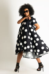 Polka Dots Cotton Summer Dress