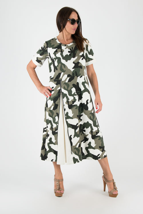 Robe Camouflage Automne