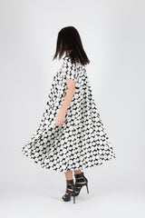 Polka Dots Summer Dress, Midi Elegant Dress, New Arrival