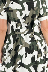 Autumn Winter Camouflage Dress
