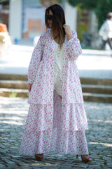 flounces summer kaftan