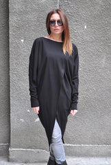 Black Women's Maxi Tunic