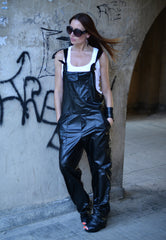 Eco Leather Jumpsuit, Jumpsuits & Rompers