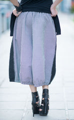 Maxi Shepherds Plaid Wide Leg Trousers