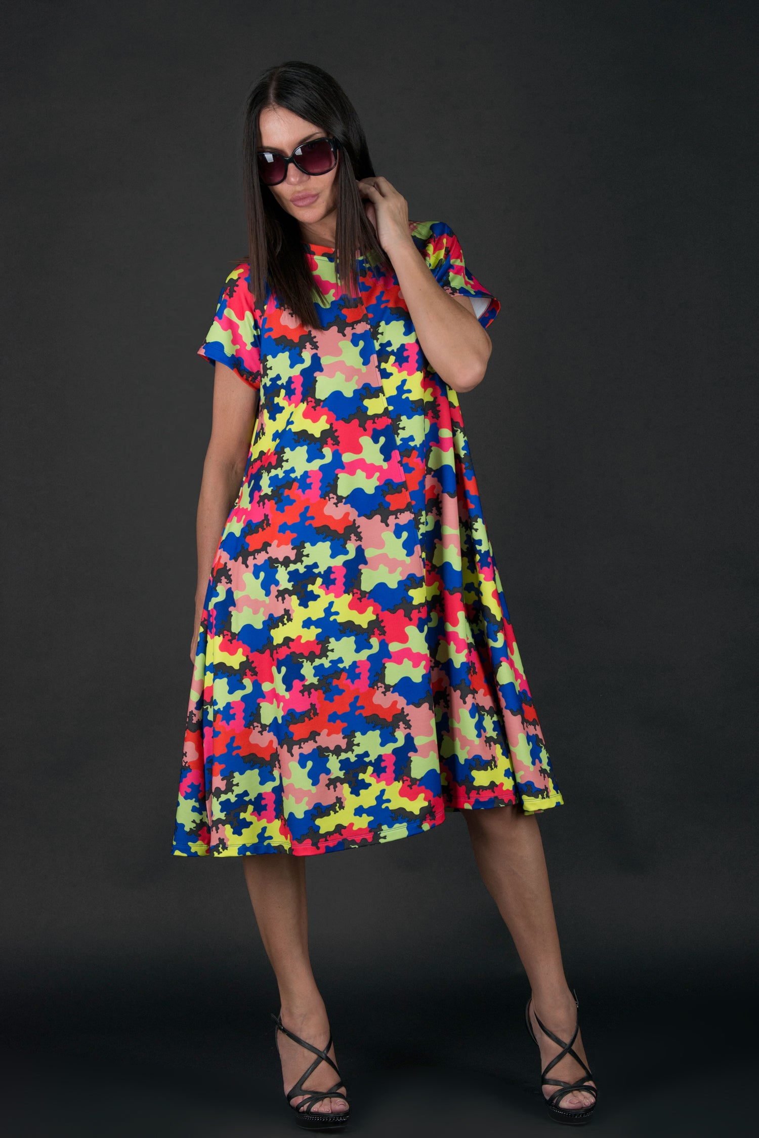 Summer Cotton Como Dress