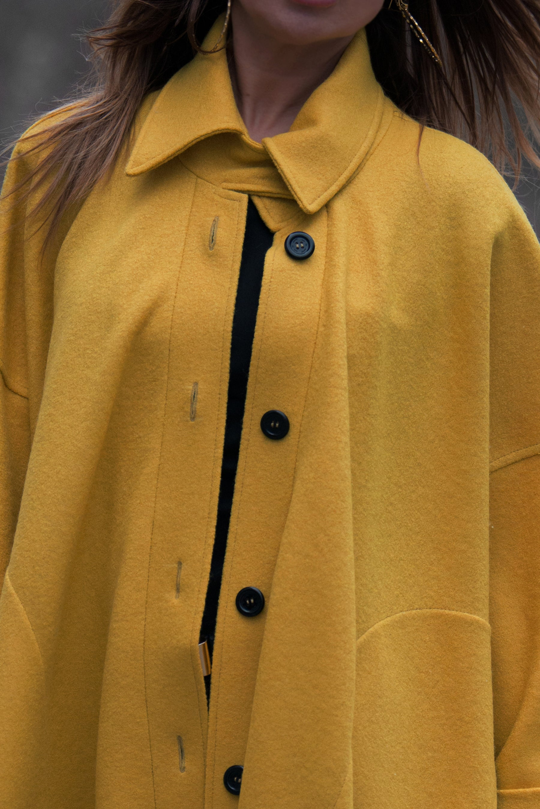 Midi Cashmere Wool Coat