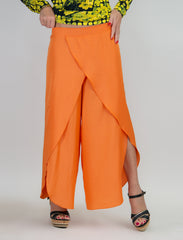 Summer Boho Orange Pants