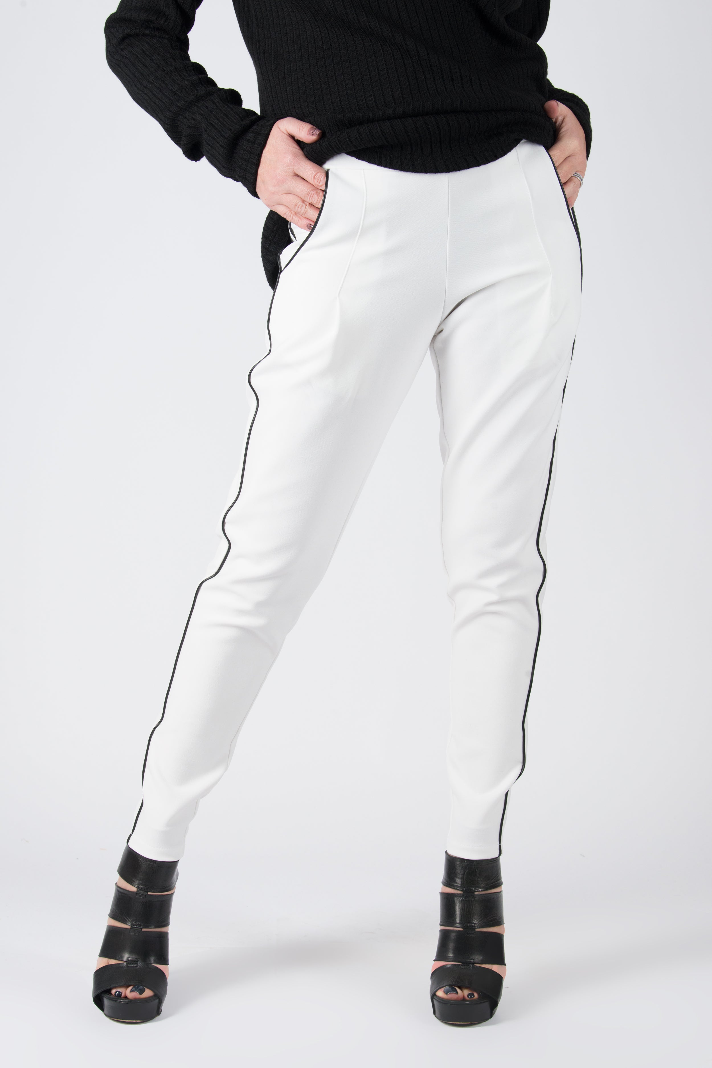 White Tight Pants, White Elegant leggings, New Arrival