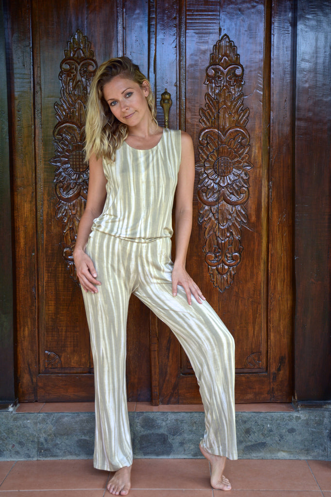 Organic bamboo jumpsuit - available now