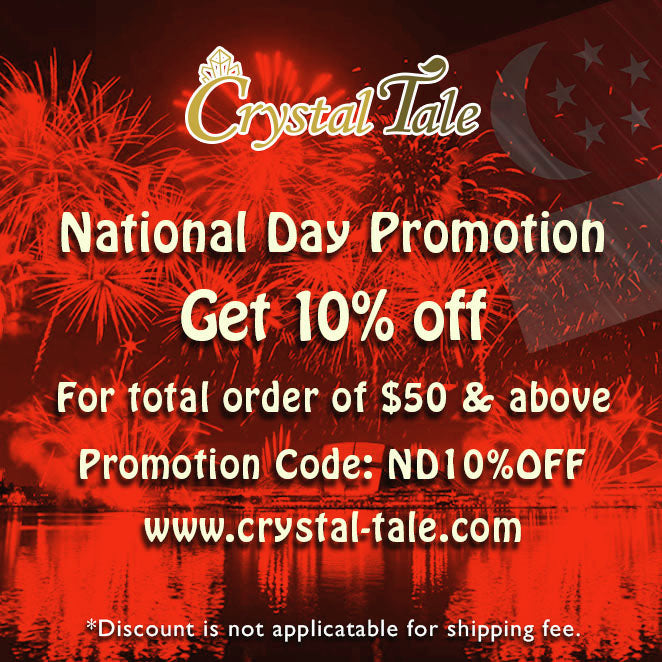 Happy National Day! 10% off!!
