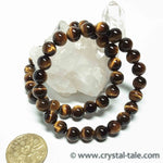 Load image into Gallery viewer, Gold Tiger's Eye Bracelet