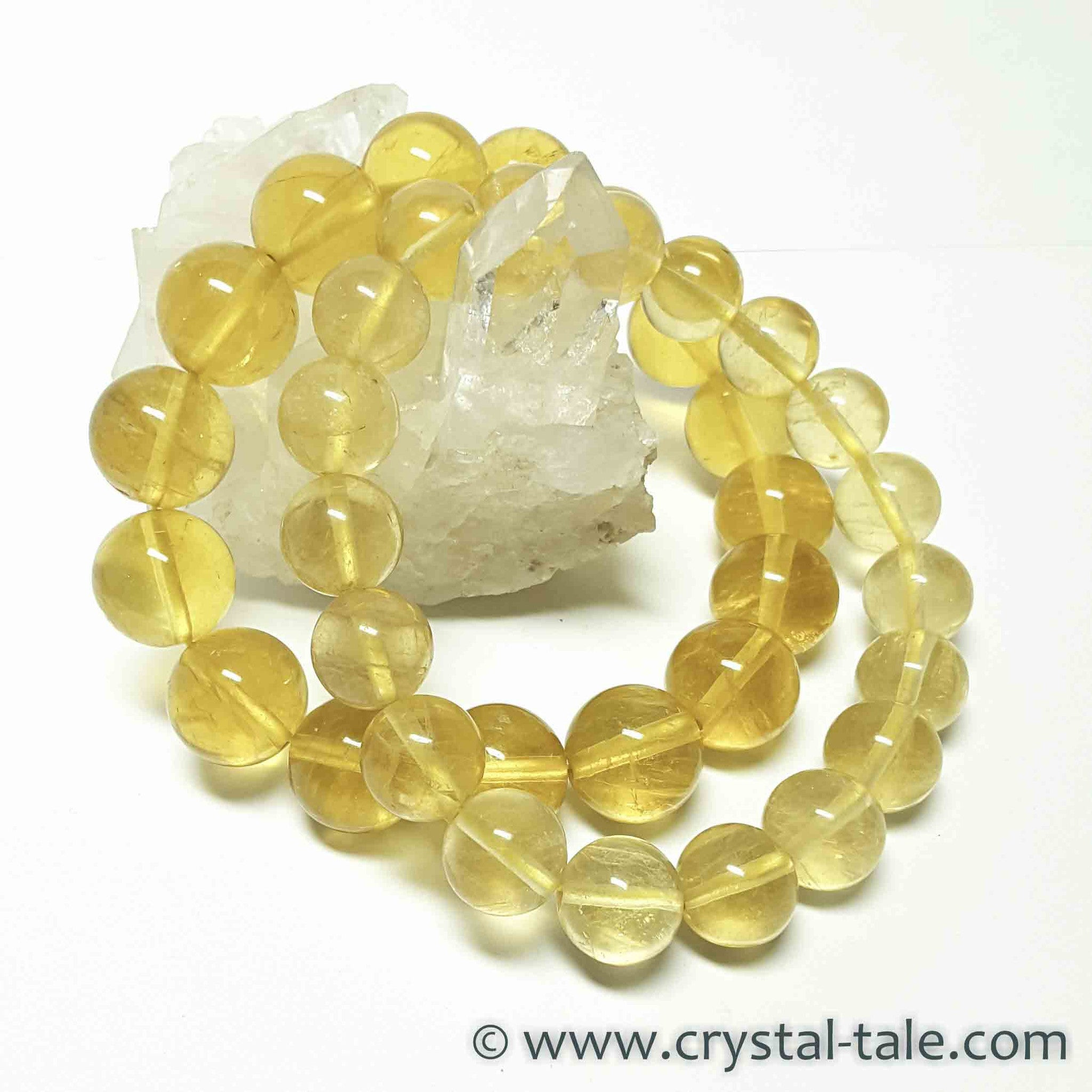Golden Calcite Bracelet