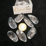 Load image into Gallery viewer, Clear Quartz Tumble (Natural Points)