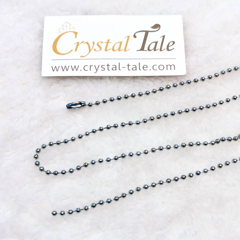 Stainless Steel Chain - Round Beads