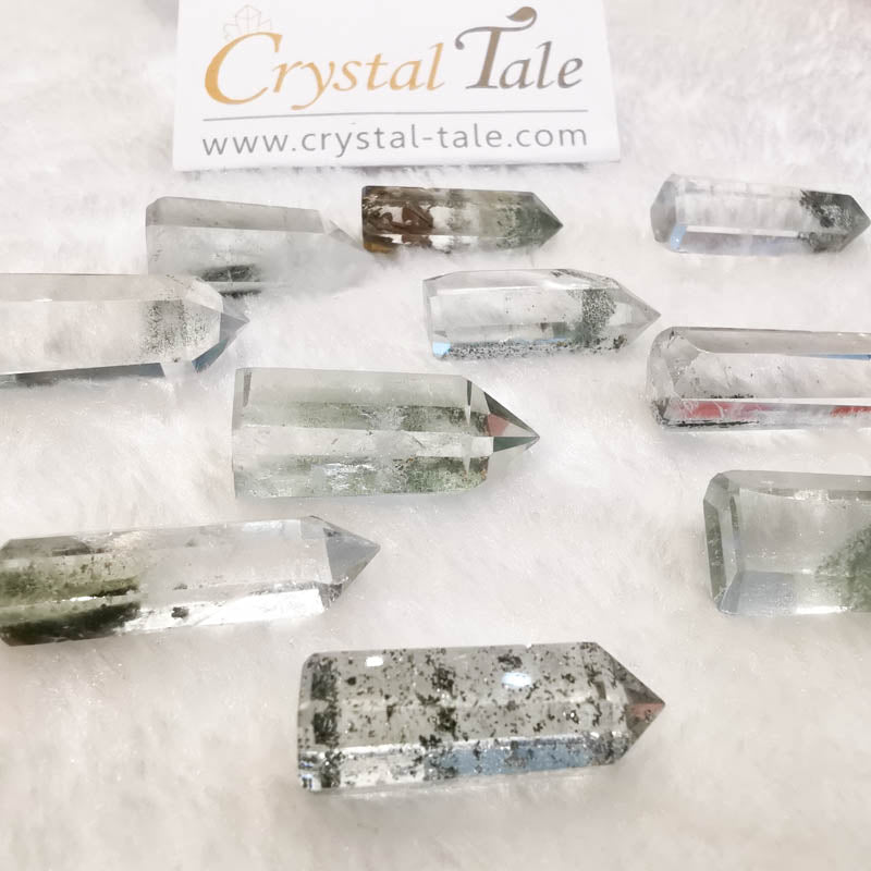 Green Phantom Quartz Mini Points