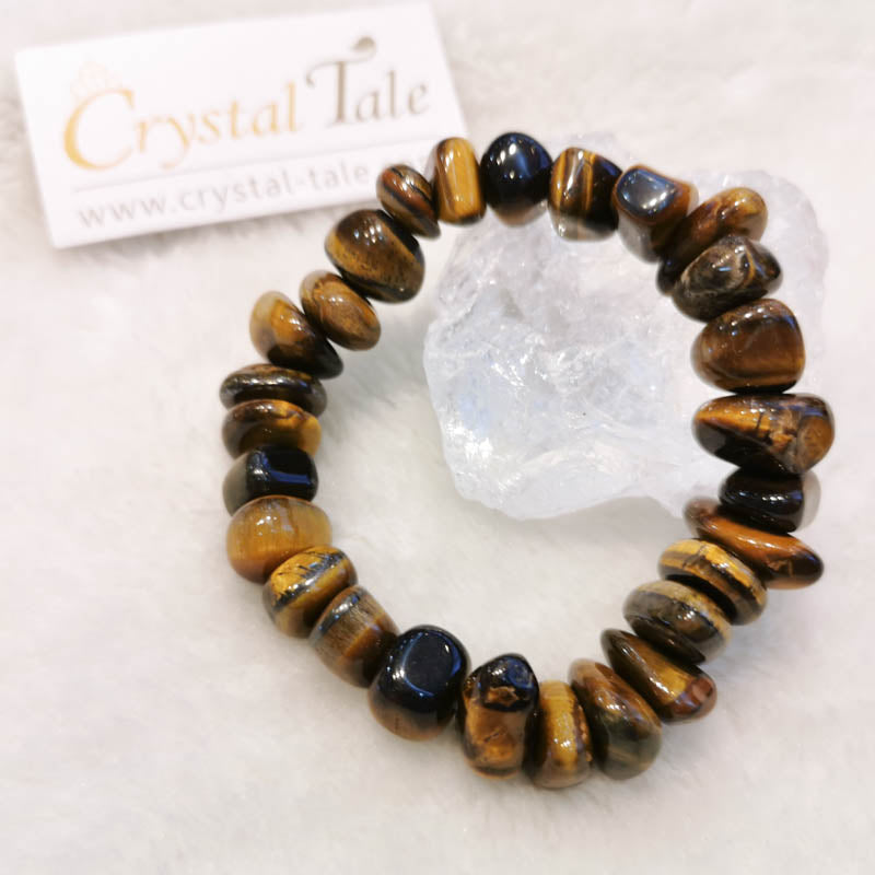 Tiger's Eye Bracelet - Free form