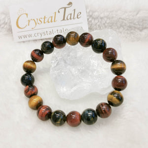 Tiger's Eye Bracelet - Mixed Colour